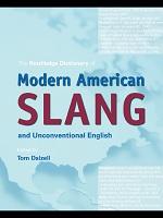 Modern American Slang